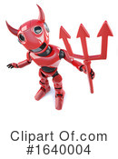 Robot Clipart #1640004 by Steve Young