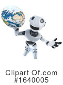 Robot Clipart #1640005 by Steve Young