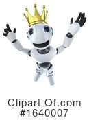 Robot Clipart #1640007 by Steve Young