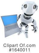 Robot Clipart #1640011 by Steve Young
