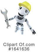 Robot Clipart #1641636 by Steve Young