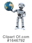 Robot Clipart #1646792 by Steve Young