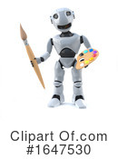 Robot Clipart #1647530 by Steve Young