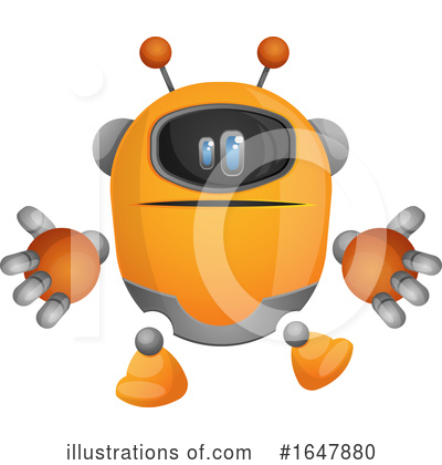 Robot Clipart #1647880 by Morphart Creations