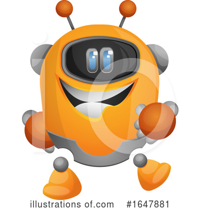 Robot Clipart #1647881 by Morphart Creations