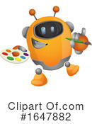Robot Clipart #1647882 by Morphart Creations