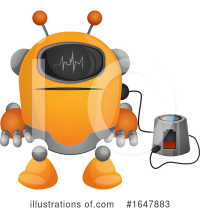 Robot Clipart #1647883 by Morphart Creations