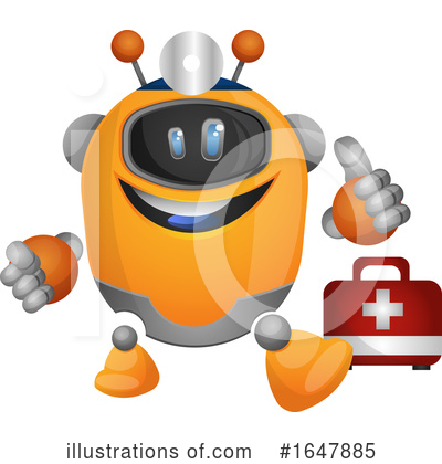 Robot Clipart #1647885 by Morphart Creations