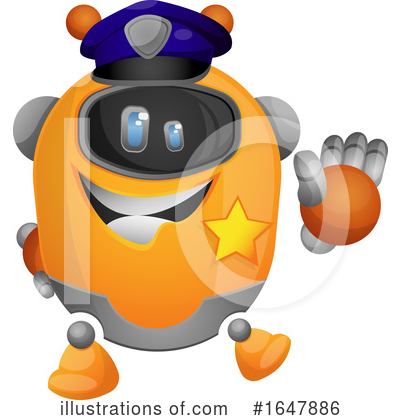 Robot Clipart #1647886 by Morphart Creations