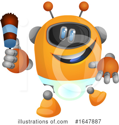 Robot Clipart #1647887 by Morphart Creations