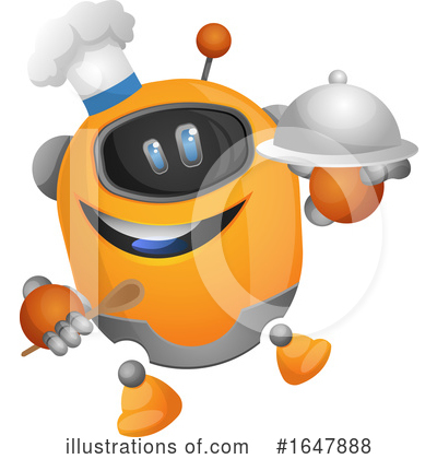 Robot Clipart #1647888 by Morphart Creations