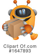 Robot Clipart #1647893 by Morphart Creations