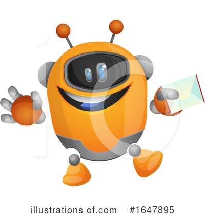 Robot Clipart #1647895 by Morphart Creations