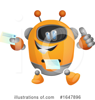 Robot Clipart #1647896 by Morphart Creations