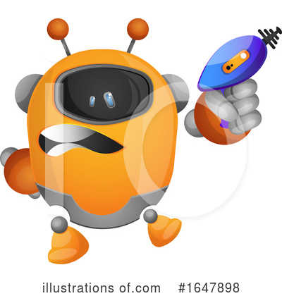 Robot Clipart #1647898 by Morphart Creations