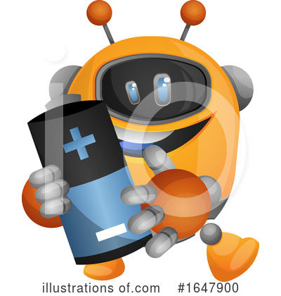 Robot Clipart #1647900 by Morphart Creations