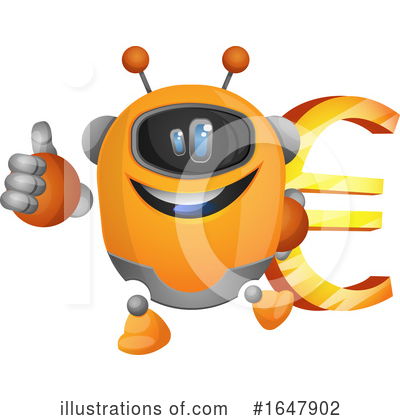 Robot Clipart #1647902 by Morphart Creations
