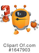 Robot Clipart #1647903 by Morphart Creations