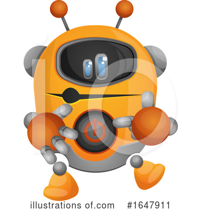 Robot Clipart #1647911 by Morphart Creations