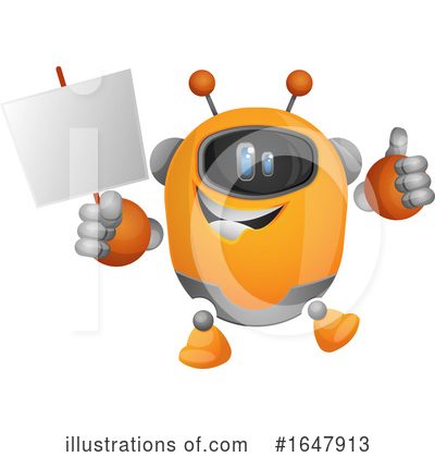 Robot Clipart #1647913 by Morphart Creations