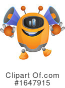 Robot Clipart #1647915 by Morphart Creations