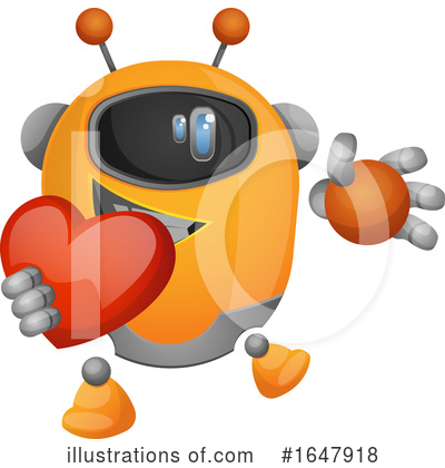 Robot Clipart #1647918 by Morphart Creations