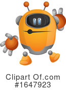 Robot Clipart #1647923 by Morphart Creations