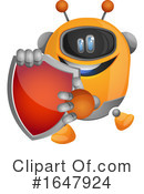 Robot Clipart #1647924 by Morphart Creations