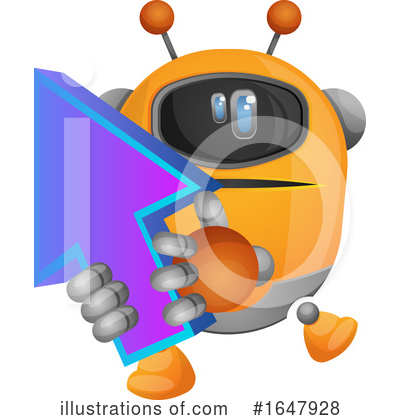 Robot Clipart #1647928 by Morphart Creations