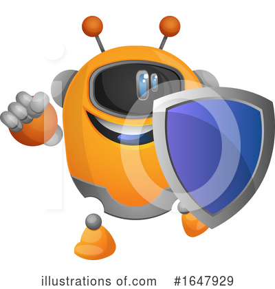 Robot Clipart #1647929 by Morphart Creations