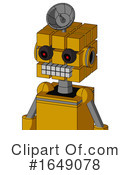 Robot Clipart #1649078 by Leo Blanchette