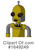 Robot Clipart #1649249 by Leo Blanchette