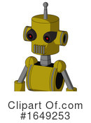 Robot Clipart #1649253 by Leo Blanchette