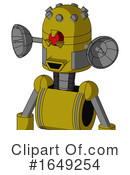 Robot Clipart #1649254 by Leo Blanchette