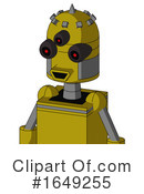 Robot Clipart #1649255 by Leo Blanchette