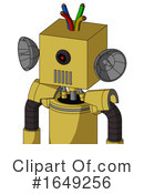 Robot Clipart #1649256 by Leo Blanchette