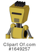 Robot Clipart #1649257 by Leo Blanchette