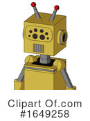 Robot Clipart #1649258 by Leo Blanchette