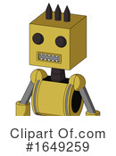 Robot Clipart #1649259 by Leo Blanchette