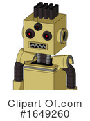 Robot Clipart #1649260 by Leo Blanchette
