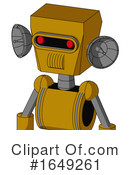 Robot Clipart #1649261 by Leo Blanchette
