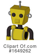 Robot Clipart #1649262 by Leo Blanchette