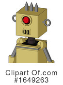 Robot Clipart #1649263 by Leo Blanchette
