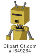 Robot Clipart #1649264 by Leo Blanchette