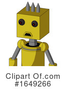 Robot Clipart #1649266 by Leo Blanchette