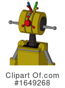 Robot Clipart #1649268 by Leo Blanchette