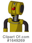 Robot Clipart #1649269 by Leo Blanchette