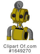 Robot Clipart #1649270 by Leo Blanchette