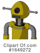 Robot Clipart #1649272 by Leo Blanchette