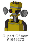 Robot Clipart #1649273 by Leo Blanchette